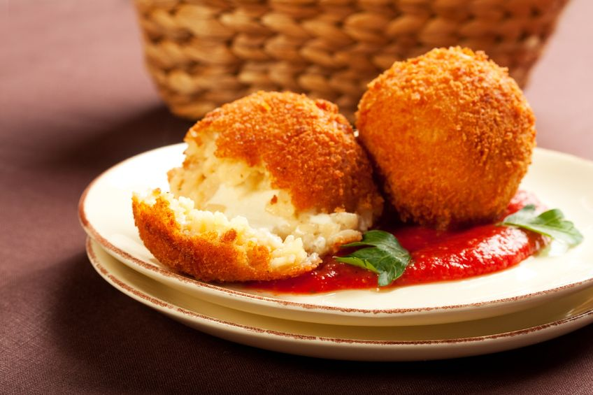 arancini recipe, arancini, how to make arancini, caribbean cuisine, caribbean food recipes