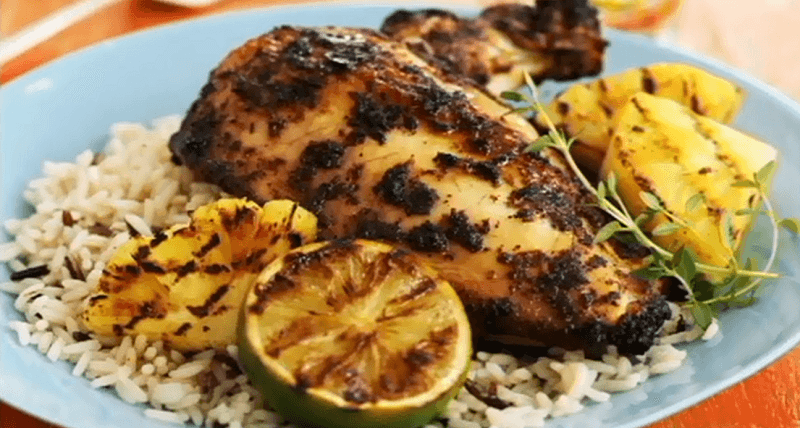 caribbean jerk chicken recipe, how to make caribbean chicken, caribbean cuisine, caribbean food recipes