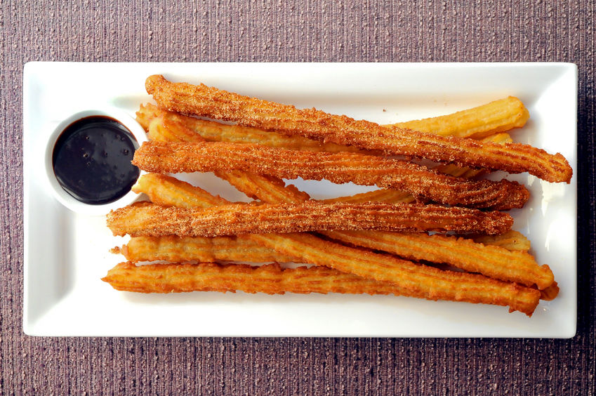 churros with chocolate sauce recipe, churros with chocolate sauce, how to make churros, caribbean cuisine, caribbean food recipes
