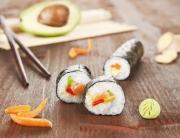 sushi rolls recipes, how to make sushi, caribbean cuisine, caribbean sushi