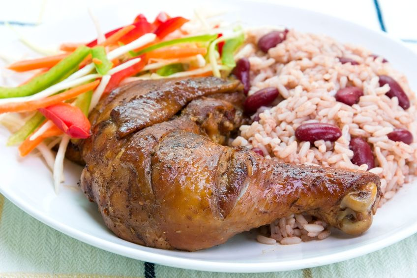 Jamaican Jerk Chicken Recipe, how to make caribbean jerk chicken, caribbean food recipes
