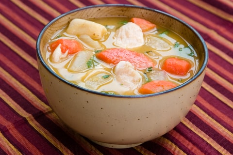 Jamaican Chicken Soup Caribbean Soup Recipes